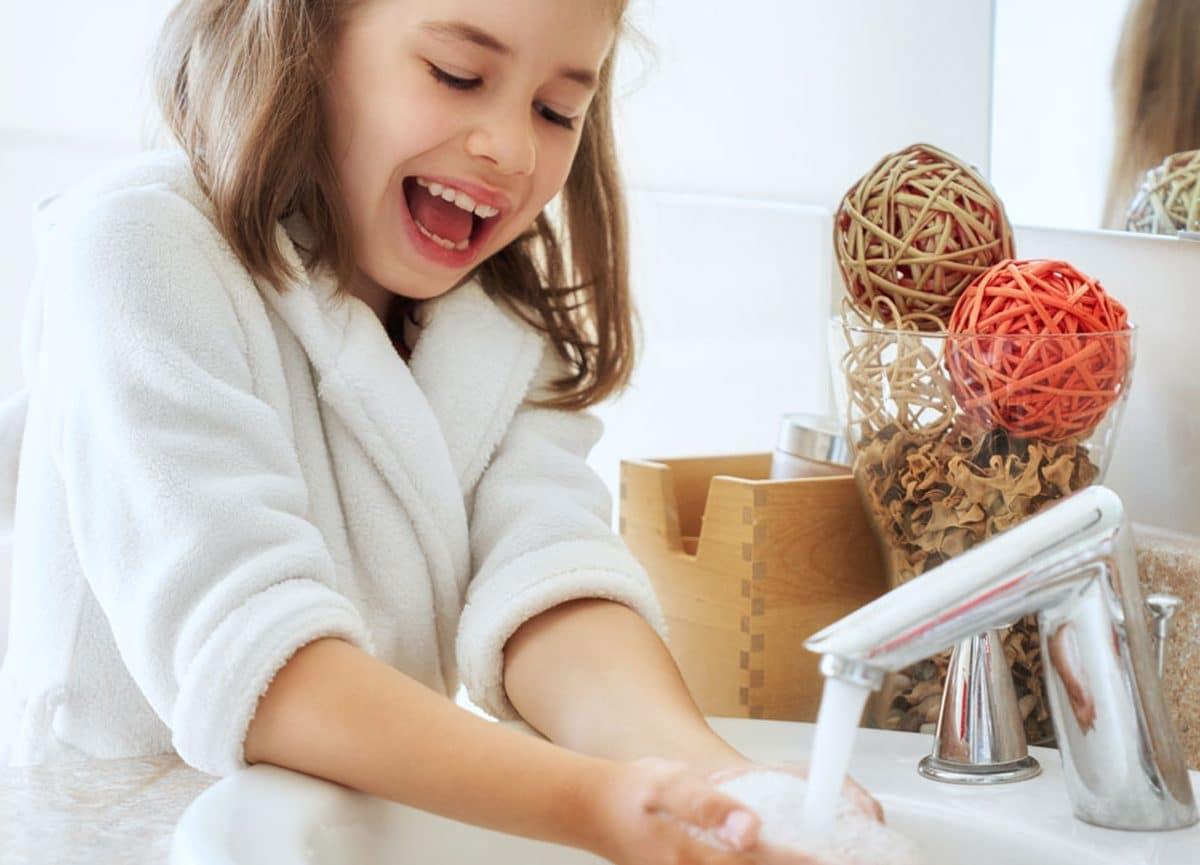 Köpük El Sabunu Kullanarak Çocuğunuzun El Sağlığını Koruyun!